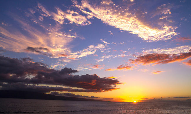 Sunset Lahaina  August 4, 2013