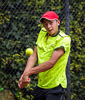 Hilversum, Netherlands, August 9, 2017, National Junior Championships, NJK, Amadatus Admiraal<br /> Photo: Tennisimages/Henk Koster