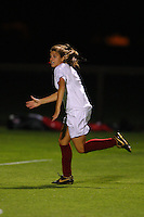 14 September 2007: Stanford Cardinal Lauren Shapiro during Stanford's 3-2 win in the Stanford Invitational against the Missouri Tigers at Maloney Field in Stanford, CA.