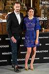 "British actor Joseph Fiennes and argentinian actress Maria Botto  during the presentation of the film ""Resucitado"" at the church of San Antonio de los Alemanes in Madrid, March 16, 2016. (ALTERPHOTOS/BorjaB.Hojas)"
