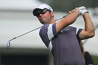 Paul Casey (ENG) on the 4th tee during Round 2 of the UBS Hong Kong Open 2012, Hong Kong Golf Club, Fanling, Hong Kong. 16/11/12...(Photo Jenny Matthews/www.golffile.ie)