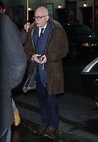 NEW YORK, NY - JANUARY 8: Michael Wolff seen at The Late Show With Stephen Colbert in New York City on January 8, 2018. <br /> CAP/MPI/RW<br /> &copy;RW/MPI/Capital Pictures