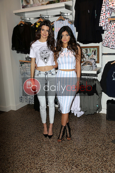 Kendall Jenner, Kylie Jenner<br />