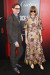 Hamish Bowles and Anna Wintour arrive at the World Premiere of Ocean's 8 at Alice Tully Hall in New York City, on June 5, 2018.
