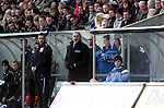 Coca-Cola Football League Championship - Swansea City v Cardiff City @ The Liberty Stadium in Swansea..Dave Jones the Cardiff City Manager shouting at his players..