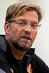 Liverpool FC Coach Jurgen Klopp speaks at the press conference after the Premier League Asia Trophy final match between Liverpool FC and Leicester City FC at Hong Kong Stadium on 22 July 2017, in Hong Kong, China. Photo by Yu Chun Christopher Wong / Power Sport Images
