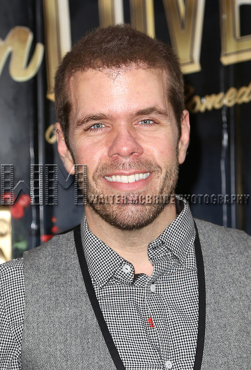 Perez Hilton attends the Broadway Opening Night Performance of  'Living on Love'  at  The Longacre Theatre on April 20, 2015 in New York City.
