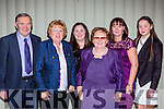 Enjoying the Kerry Sports Star awards in the Malton Hotel on Friday night l-r: Connie Vaughan, Sheila Morris, Clidhna, Mairead, Karen, and Aine Martin who collected Mairead Martin Killlarney Golf Club award