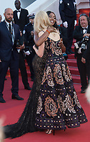 Nicole Kidman &amp; Naomi Campbell at the 70th Anniversary Gala for the Festival de Cannes, Cannes, France. 23 May 2017<br /> Picture: Paul Smith/Featureflash/SilverHub 0208 004 5359 sales@silverhubmedia.com