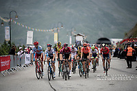 the grupetto 2 km from the finish in Val thorens<br /> <br /> shortened stage 20: Albertville to Val Thorens (59km in stead of the original 130km due to landslides/bad weather)<br /> 106th Tour de France 2019 (2.UWT)<br /> <br /> ©kramon