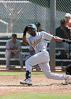 Michael Richard / Oakland Athletics 2008 Instructional League..Photo by:  Bill Mitchell/Four Seam Images
