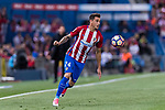 Jose Maria Gimenez de Vargas of Atletico de Madrid in action during the La Liga match between Atletico de Madrid vs Villarreal CF at the Estadio Vicente Calderon on 25 April 2017 in Madrid, Spain. Photo by Diego Gonzalez Souto / Power Sport Images