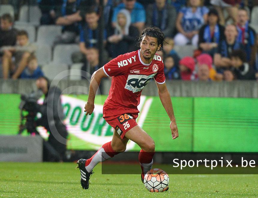 Club Brugge - KV Kortrijk : Elohim Rolland <br /> Foto VDB / Bart Vandenbroucke
