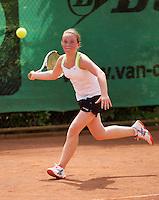 05-08-13, Netherlands, Dordrecht,  TV Desh, Tennis, NJK, National Junior Tennis Championships, Veerle Contant<br /> <br /> <br /> Photo: Henk Koster