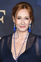 LONDON, UK. November 13, 2018: J.K. Rowling at the &quot;Fantastic Beasts: The Crimes of Grindelwald&quot; premiere, Leicester Square, London.<br /> Picture: Steve Vas/Featureflash