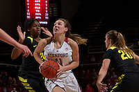 Stanford Basketball W vs University of Oregon, January 6, 2017