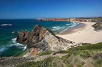 Portugal, Algarve, near Carrapateira: Praia da Bordeira