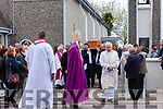 Mourners gather to say a final goodbye to popular and inspirational priest Fr Pat Moore in St Mary's Church Asdee on Thursday morning.