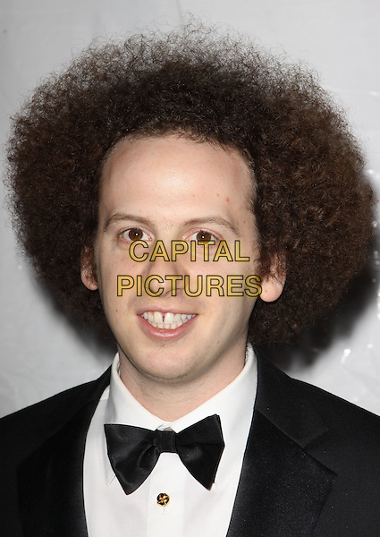 JOSH SUSSMAN.E! Oscar Viewing And After Party held At Drai's at The W Hotel, Hollywood, California, USA..March 7th, 2010.headshot portrait black white bow tie hair afro .CAP/ADM/KB.©Kevan Brooks/AdMedia/Capital Pictures.