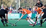 BLOEMENDAAL  - Florian Fuchs (Bldaal)    Hoofdklasse competitie heren, Bloemendaal-HGC (7-2). COPYRIGHT KOEN SUYK