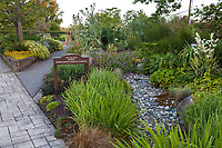 Entrance into Soest Herbaceous Display Garden, University of Washington Botanic Garden, Center for Urban Horticulture, Seattle