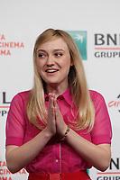Dakota Fanning<br /> Roma 31/10/2017.  Auditorium parco della Musica. Festa del Cinema di Roma 2017.<br /> Rome October 31st 2017. Rome Film Fest 2017<br /> Foto Samantha Zucchi Insidefoto