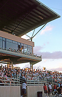 Ballparks: San Antonio Municipal Stadium--Grandstand and Sky Boxes.