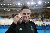 Eddie Dawkins of New Zealand wins bronze in the Men's Keirin. Gold Coast 2018 Commonwealth Games, Track Cycling, Anna Meares Velodrome, Brisbane, Australia. 6 April 2018 © Copyright Photo: Anthony Au-Yeung / www.photosport.nz /SWpix.com