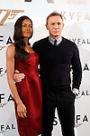 Actress Naomie Harris and actor Daniel Craig attend 'Skyfall' photocall on October 29, 2012 in Madrid, Spain. .(ALTERPHOTOS/Harry S. Stamper)