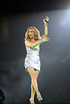 Celine Dion performs during her sold-out concert at the Toyota Center Friday Jan. 09, 2009.(Dave Rossman/For the Chronicle)