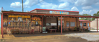 66 Stageline BBQ in Shamrock Texas on Route 66.