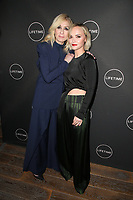 WEST HOLLYWOOD, CA - JANUARY 9: Judith Light, Christina Ricci, at the Lifetime Winter Movies Mixer at Studio 4 at The Andaz Hotel in West Hollywood, California on January 9, 2019. Credit:Faye Sadou/MediaPunch