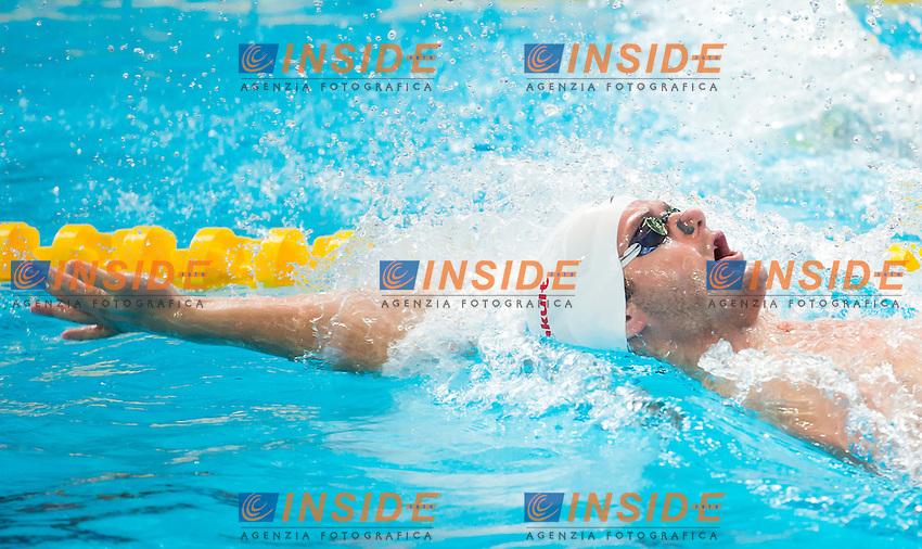 CLARY Tyler USA<br /> Swimming - Men's  200m backstroke heats<br /> Day 14 06/08/2015<br /> XVI FINA World Championships Aquatics Swimming<br /> Kazan Tatarstan RUS July 24 - Aug. 9 2015 <br /> Photo Giorgio Perottino/Deepbluemedia/Insidefoto