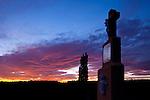 Sonnenuntergang, sunset, Dürnbach, Burgenland, Austria, Österreich
