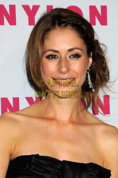 AMANDA CREW.Nylon Magazine's Young Hollywood Party held at the Roosevelt Hotel's Tropicana Bar, Hollywood, California, USA..May 12th, 2010.headshot portrait black strapless .CAP/ADM/BP.©Byron Purvis/AdMedia/Capital Pictures.