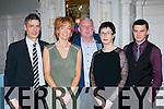 Enjoying the Rathmore GAA social in the Killarney Avenue on Friday night were l-r: Brendan Jenkins, Noreen Jenkins, Denis Moynihan, Karina Kelliher and Cian Jenkins
