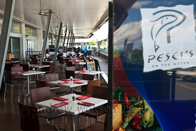 Pesci' Restaurant at The Pier.  Cairns, Queensland, Australia