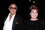 Lorna Luft  and Sid Luft on September 1, 1985 in New York City.