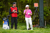 Tommy Fleetwood (ENG) looks over his tee shot on 12 during round 3 of the 2019 US Open, Pebble Beach Golf Links, Monterrey, California, USA. 6/15/2019.<br /> Picture: Golffile | Ken Murray<br /> <br /> All photo usage must carry mandatory copyright credit (© Golffile | Ken Murray)