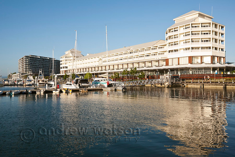 The Pier at the Marina - a waterfront restaurant and shopping complex housing the Shangri-La Hotel.  Cairns, Queensland, Australia