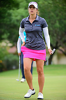 Marina Alex (USA) after sinking her putt on 2 during round 3 of  the Volunteers of America Texas Shootout Presented by JTBC, at the Las Colinas Country Club in Irving, Texas, USA. 4/29/2017.<br /> Picture: Golffile | Ken Murray<br /> <br /> <br /> All photo usage must carry mandatory copyright credit (&copy; Golffile | Ken Murray)
