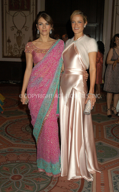 WWW.ACEPIXS.COM . . . . . ....NEW YORK, APRIL 20, 2005....Elizabeth Hurley and Carolyn Murphy at the Breast Cancer Research Foundation's Annual Red Hot and Pink Party held at the Waldorf Astoria.....Please byline: KRISTIN CALLAHAN - ACE PICTURES.. . . . . . ..Ace Pictures, Inc:  ..Craig Ashby (212) 243-8787..e-mail: picturedesk@acepixs.com..web: http://www.acepixs.com