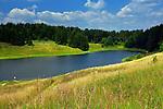 Stańczyki. Rynnowe, polodowcowe jezioro położone w województwie warmińsko-mazurskim, nieopodal Puszczy Rominckiej i mostów w Stańczykach.