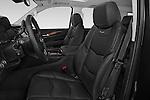 Front seat view of 2017 Cadillac Escalade-ESV Luxury 5 Door SUV Front Seat  car photos