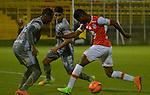 Tigres igualó como local 0-0 ante Independiente Santa Fe. Fecha 7 Liga Águila I-2017.