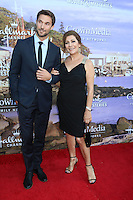 BEVERLY HILLS, CA - JULY 27: Jack Turner, Marina Sirtis at the Hallmark Channel and Hallmark Movies and Mysteries Summer 2016 TCA press tour event on July 27, 2016 in Beverly Hills, California. Credit: David Edwards/MediaPunch