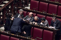 Roma, 30 Gennaio 2015<br /> Davide Zoggia e Pierluigi Bersani<br /> Camera dei Deputati - Elezione del Presidente della Repubblica<br /> Seconda votazione. Pierluigi Bersani in attesa  del voto con alcuni deputati del Partito Democratico<br /> Rome, January 30, 2015<br /> Chamber of Deputies - Election of the President of the Republic<br /> Second Vote. Pierluigi Bersani bersani awaiting the vote with some members of the Democratic Party