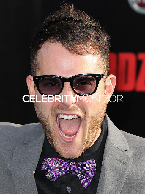 "HOLLYWOOD, LOS ANGELES, CA, USA - MAY 08: Max Borenstein at the Los Angeles Premiere Of Warner Bros. Pictures And Legendary Pictures' ""Godzilla"" held at Dolby Theatre on May 8, 2014 in Hollywood, Los Angeles, California, United States. (Photo by Xavier Collin/Celebrity Monitor)"