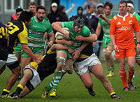 Brayden Iose in action during the Mitre 10 Cup preseason rugby match between the Wellington Lions and Manawatu Turbos at Otaki Domain in Otaki, New Zealand on Sunday, 6 August 2017. Photo: Dave Lintott / lintottphoto.co.nz