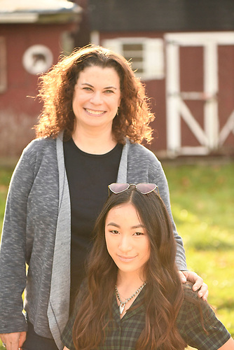 Frannie's Bat Mitzah pre-shoot at Pocantico Farm before her Bat Mitzvah at LIFE: The Place To Be.
